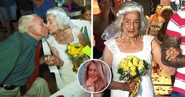 96-летняя бабушка находит любовь в доме престарелых и выходит замуж