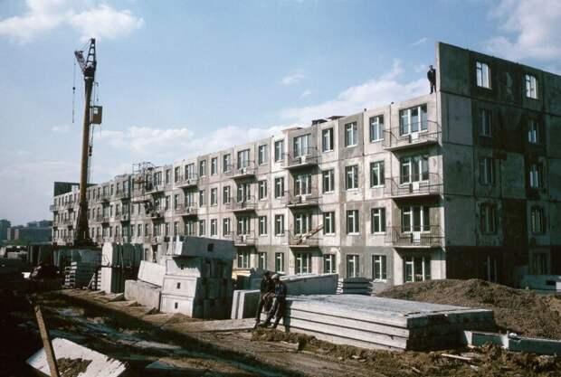 Строительство панельной пятиэтажки дин конгер, фото, фотограф
