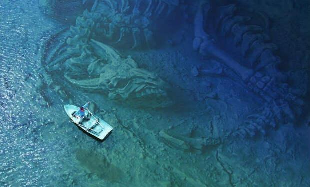 5 необъяснимых вещей найденных под водой