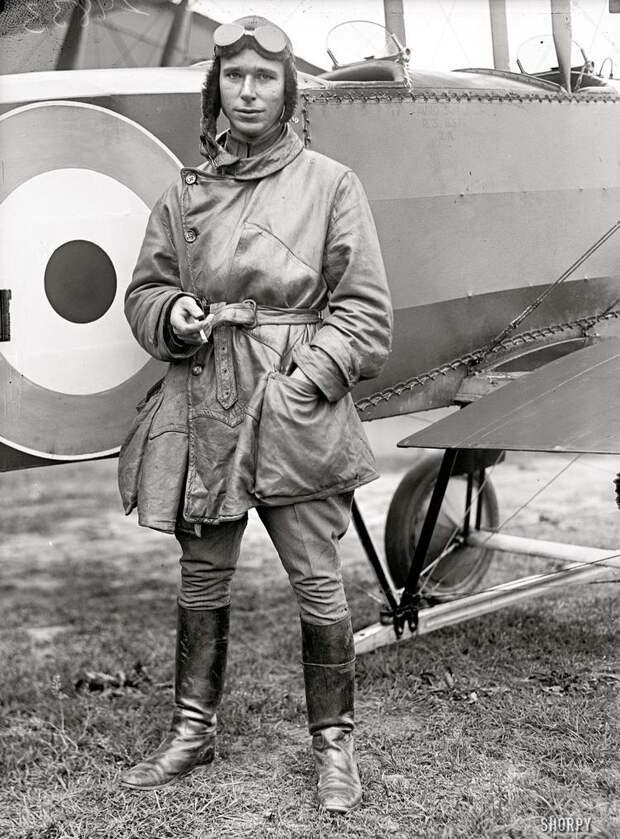Самолеты и пилоты начала 20-го века на снимках американских фотографов (11)