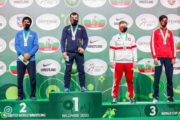 Борцы из Краснодарского края победили в Кубке мира