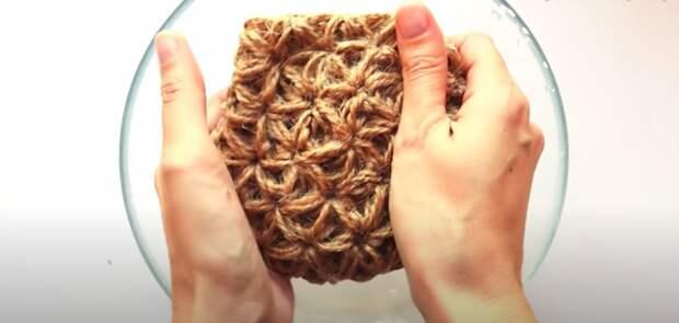 Замечательная вещица из джута в эко-стиле: ваша кожа будет благодарна