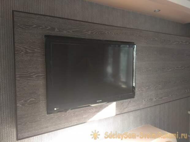 Короб из гипсокартона для телевизора своими руками