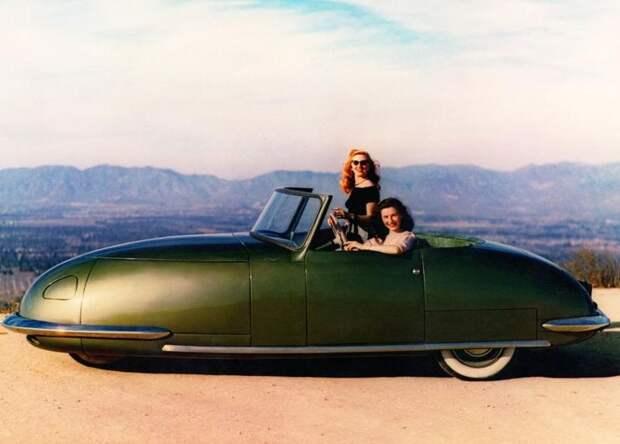Davis Divan: уникальный концептуальный автомобиль 1940‑х годов