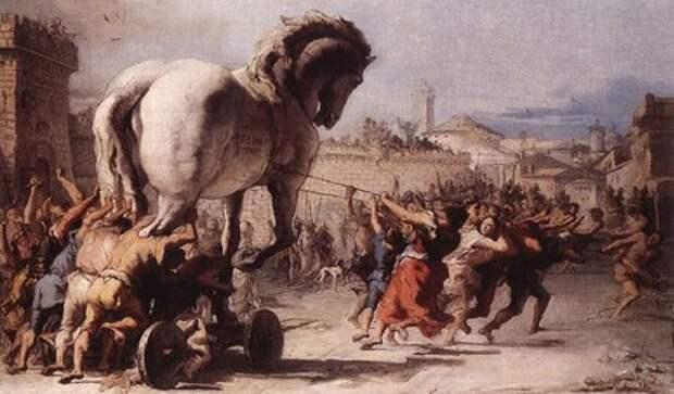 Миф о Троянской войне. Обычный набег Гомер превратил в легендарное событие