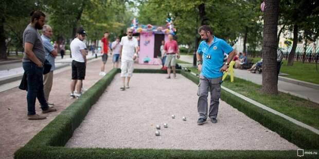 Соревнования по петанку пройдут в Малом Коптевском проезде