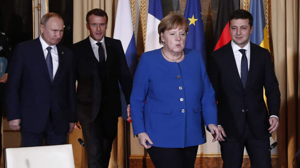 США подсказали Зеленскому: Плевать на Меркель с Макроном, санкции против России все равно не отменят