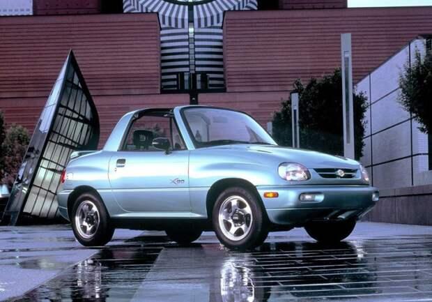 Suzuki X-90 авто, автодизайн, внедорожник, вседорожник, джип, дизайн, япония, японский автопром