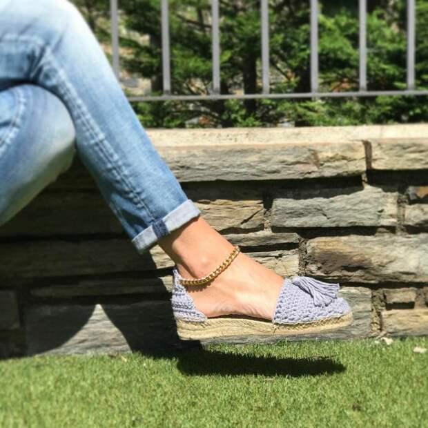 Эспадрильи, удобный и красивый вид обуви