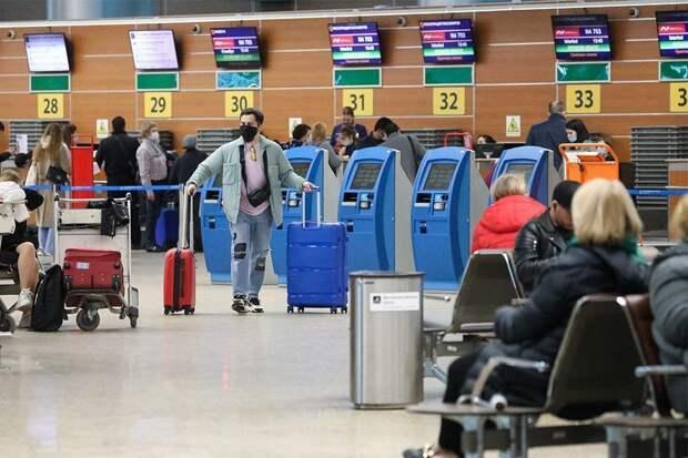 Россия возобновляет авиасообщение еще с пятью странами