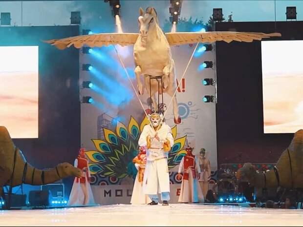 Москва онлайн покажет шествие каравана мифических животных