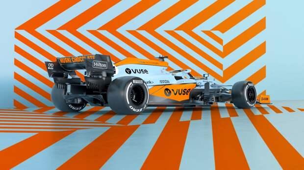 McLaren представила специальную ливрею машины на Гран При Монако