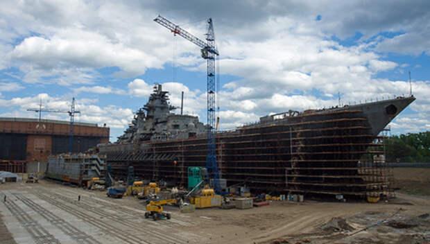"""Американские эксперты: """"Адмирал Нахимов"""" - самый мощный корабль в мире"""
