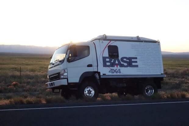 Функциональный автодом для путешествий