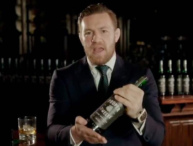 Макгрегор произнес фразу нарусском языке, анонсируя продажи своего виски вРоссии
