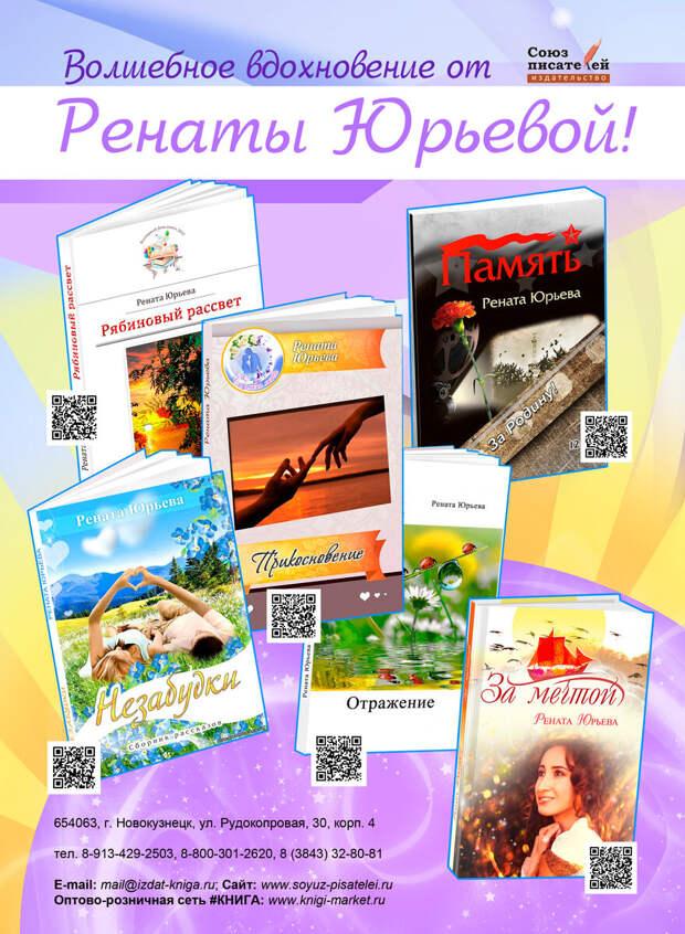 Прошлое, настоящее, будущее и нити между ними в творчестве Ренаты Юрьевой