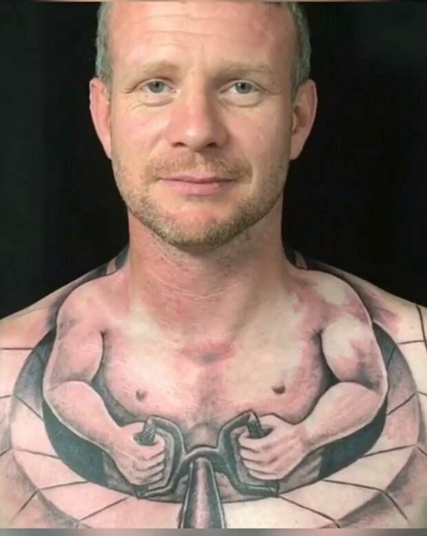 Татуировка: оригинальный подход