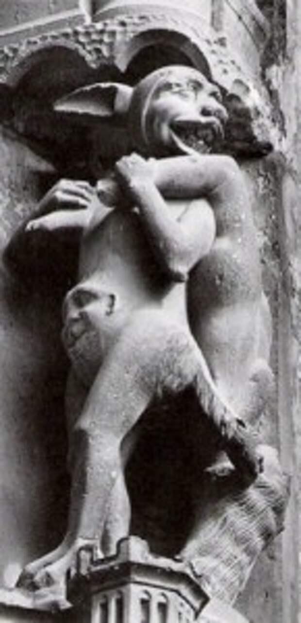 Заячий демон Шартрского собора