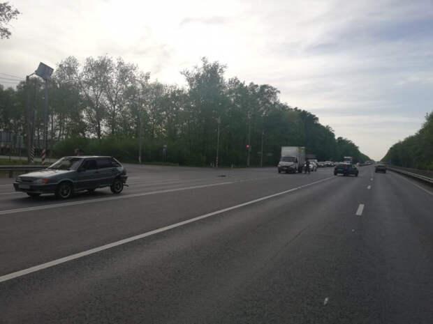 Газель влетела в «четырнадцатую» на трассе М-5 в Рязанском районе