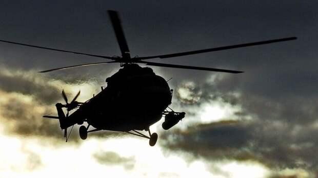 Фрагменты обгоревшего вертолета Ми-2 нашли на Камчатке