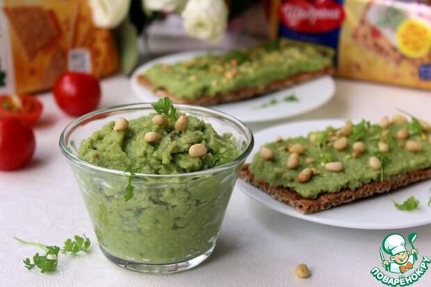 Паштет из авокадо и брокколи