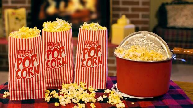 Ученые описали полезные свойства попкорна
