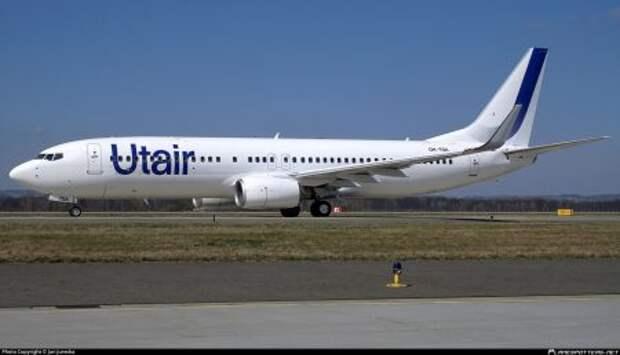 Boeing 737-8S3WL авиакомпании Utair