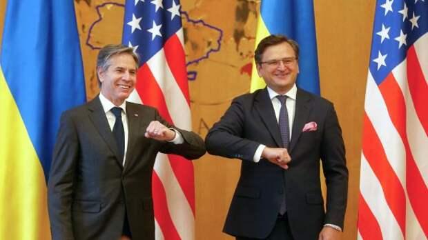 Глава МИД Украины оценил итоги визита госсекретаря США вКиев