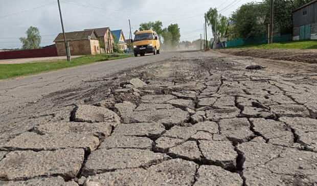 В Удмуртии в Алнашском районе жители жалуются на дорогу
