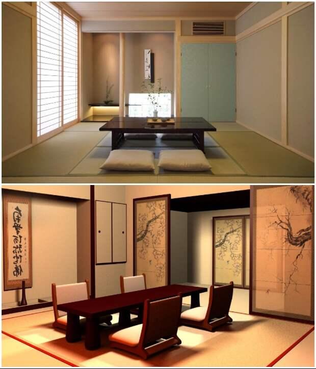 Европейская мебель немного изменила представление японцев об обеденной зоне. | Фото: convera.ru/ realinvest.com.ua.