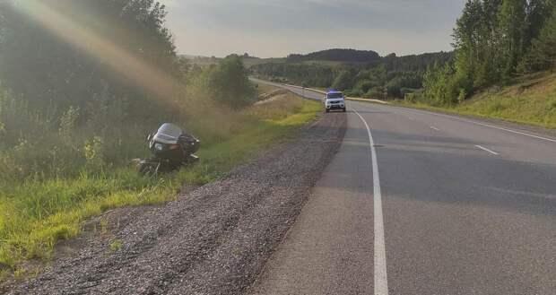 Три мотоциклиста попали в ДТП на дорогах Удмуртии в понедельник