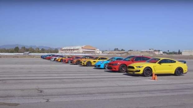 Великий дрэг: гонка спорткаров на ¼ мили