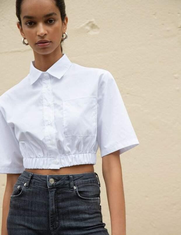 Укороченные блузки