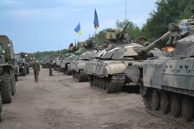 ОБСЕ поймала Киев на переброске в Донбасс ещё 50 танков