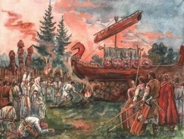 Обряды сопровождения предков в загробный мир