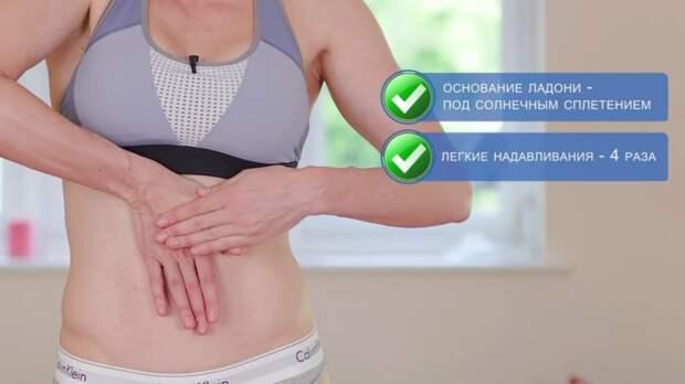 Лимфодренажный массаж для похудения живота с реальным результатом