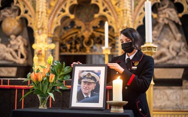Подготовка к похоронной церемонии принца Филиппа