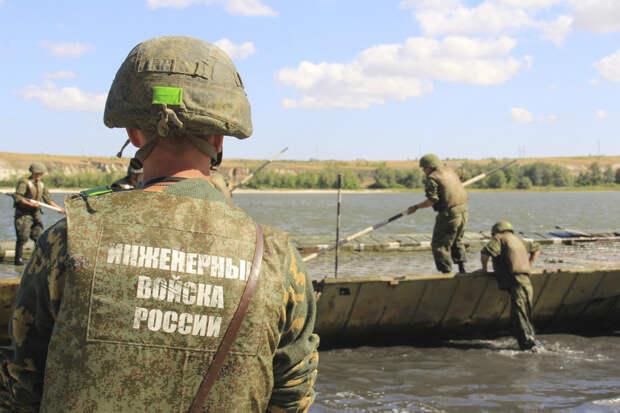 Понтонные подразделения инженерных войск к 80-летию начала Великой Отечественной войны совершат уникальный переход по речным путям