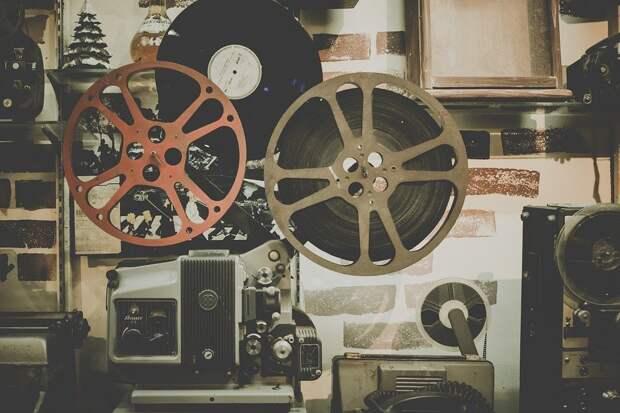 Фильм, Катушка, Проектор, Кино, Развлечения, Ретро