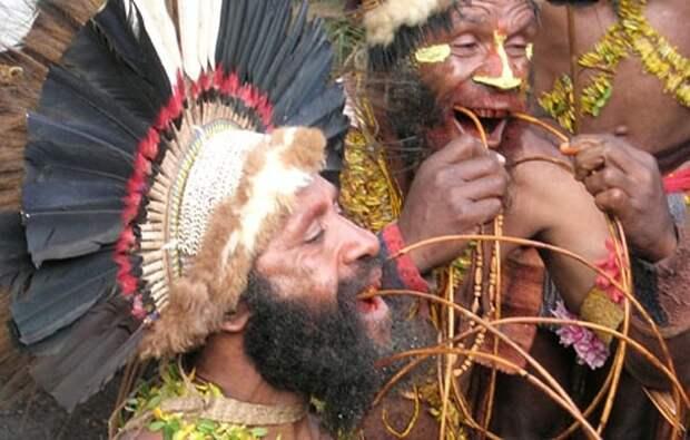 Племя матауса. Очистка крови