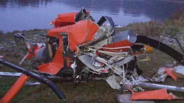 ФАН установил личность пропавшего после крушения вертолета под Архангельском