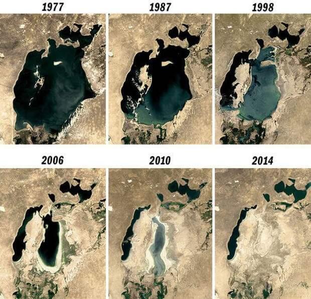Каспийское море находится под угрозой исчезновения