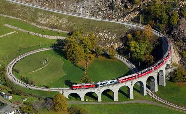 Chbahns65 Топ 5 самых необычных железных дорог Швейцарии