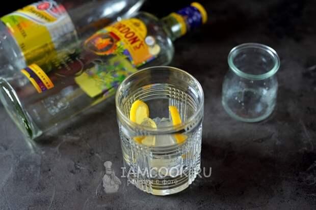Спиртные напитки. Классический джин-тоник