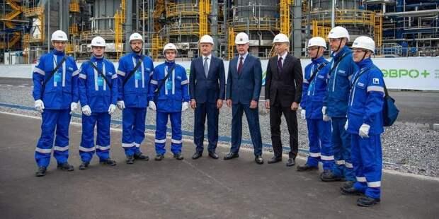 Высокотехнологичный комплекс переработки нефти «Евро+» Московского НПЗ начал работу