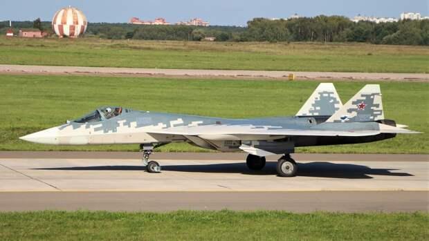 Истребитель Су-57 получит датчики контроля технического состояния самолета