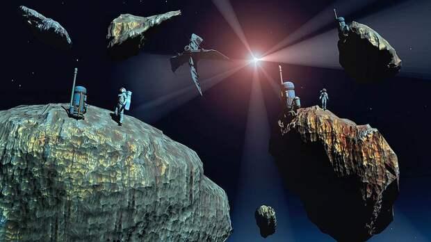 Добыча полезных ископаемых на астероидах все более реальна