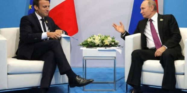 США «подставили» Макрона предоставив эфир Путину