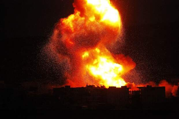 Израиль нанёс удар по Ливану (ВИДЕО)