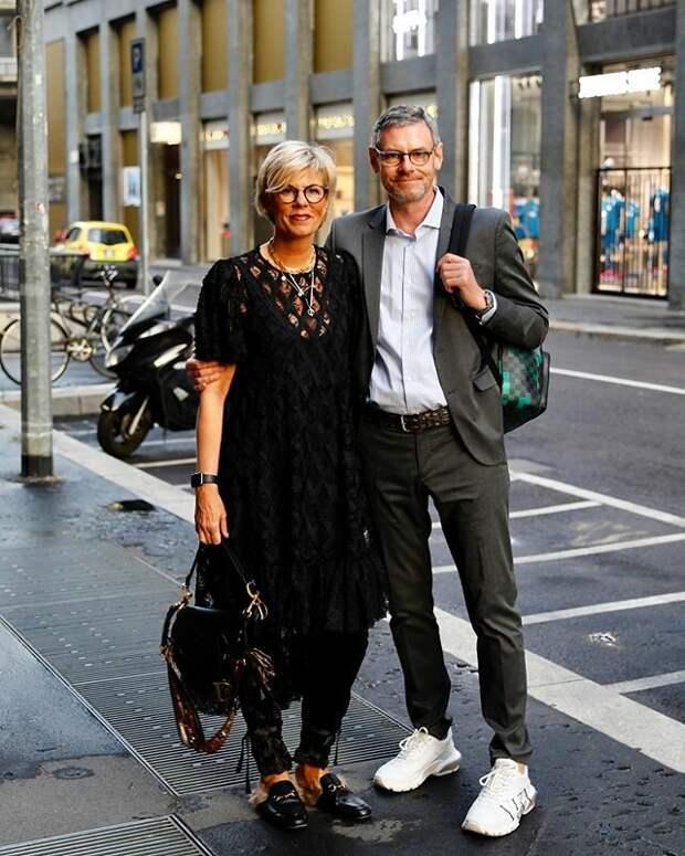 Красивая пара, которая хорошо выглядит в 50+